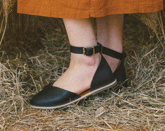 f1a4888ca1c Ankle strap flats