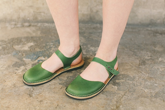 Sandals Sandals Greenery Casual Sandals Hippie Sandals Sandals Women Leather Flat Summer Flats Sandals Sandals Leather Boho Sandals 8q1wnxO