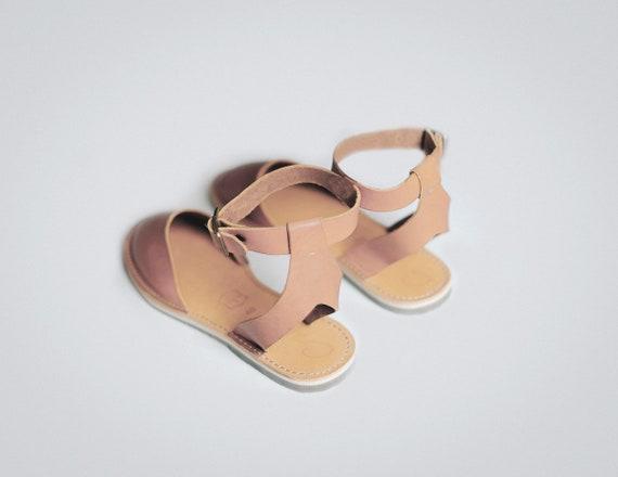 en Ons Marron nbsp; cuir Nouveau cuir sandales bride cuir cheville Peep d chaussures appartements Carmel sandales toe sandale Slip clair sandales 0qPPO1n