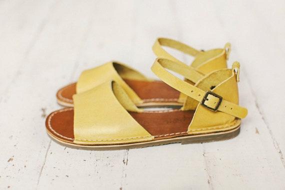 Summer Summer Sandals Leather Sandals Mustard Mustard Sandals Women Sandals Shoes Handmade fzPxwH