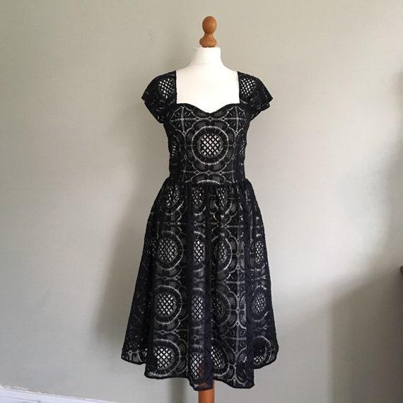 evening dress lace dress dress Black Dress black wedding wedding Lace dress prom guest Style black black lace dress 50's cotton lace awUzqn