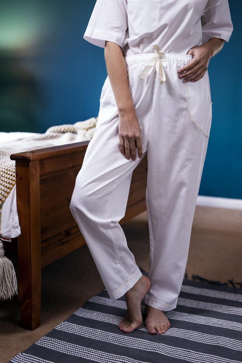 3b84ddbaecb1 Organic Cotton Pyjama trousers organic cotton pj bottoms | Etsy