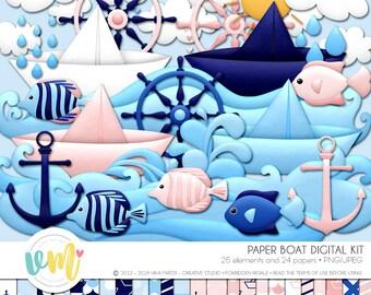 Paper Boat Digital Kit
