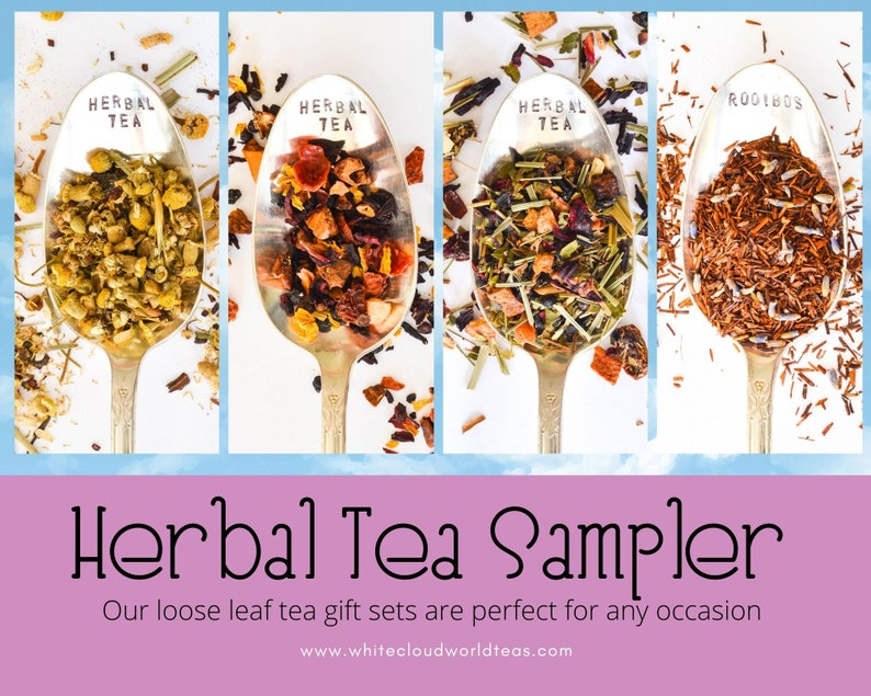 Herbal Loose Leaf Tea Sampler Gift set-Loose leaf tea image 0