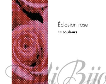 Éclosion rose -  PATTERN