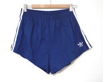 3779a53da2 Vintage 80s Adidas shorts blue excellent