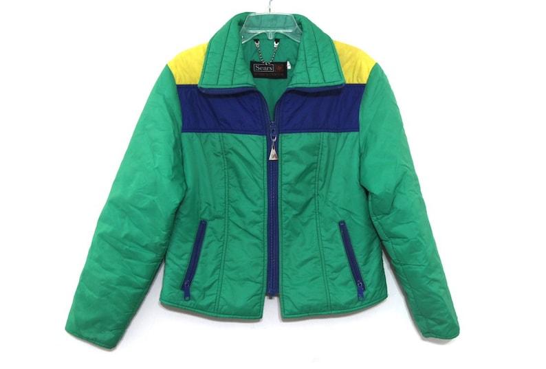 Jahre Jacke Ski Etsy Mantel Blau 80er Gelb Grün 70er Damen 1qtwBE