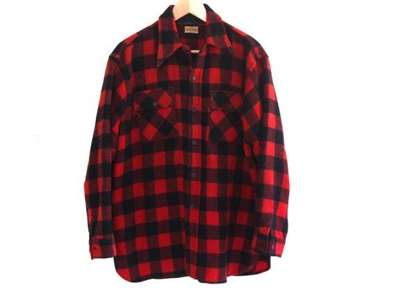Vintage 50s flannel shirt