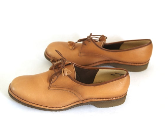 Vintage 60s leather shoes womens 7.5C Brevitt Boun