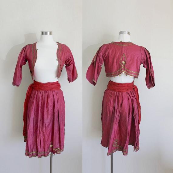 Antique Belly Dancer Costume | Circus Dancer | Edw