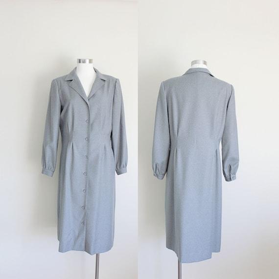 1970s Coat Dress | Princess Coat | Stanley Sherman