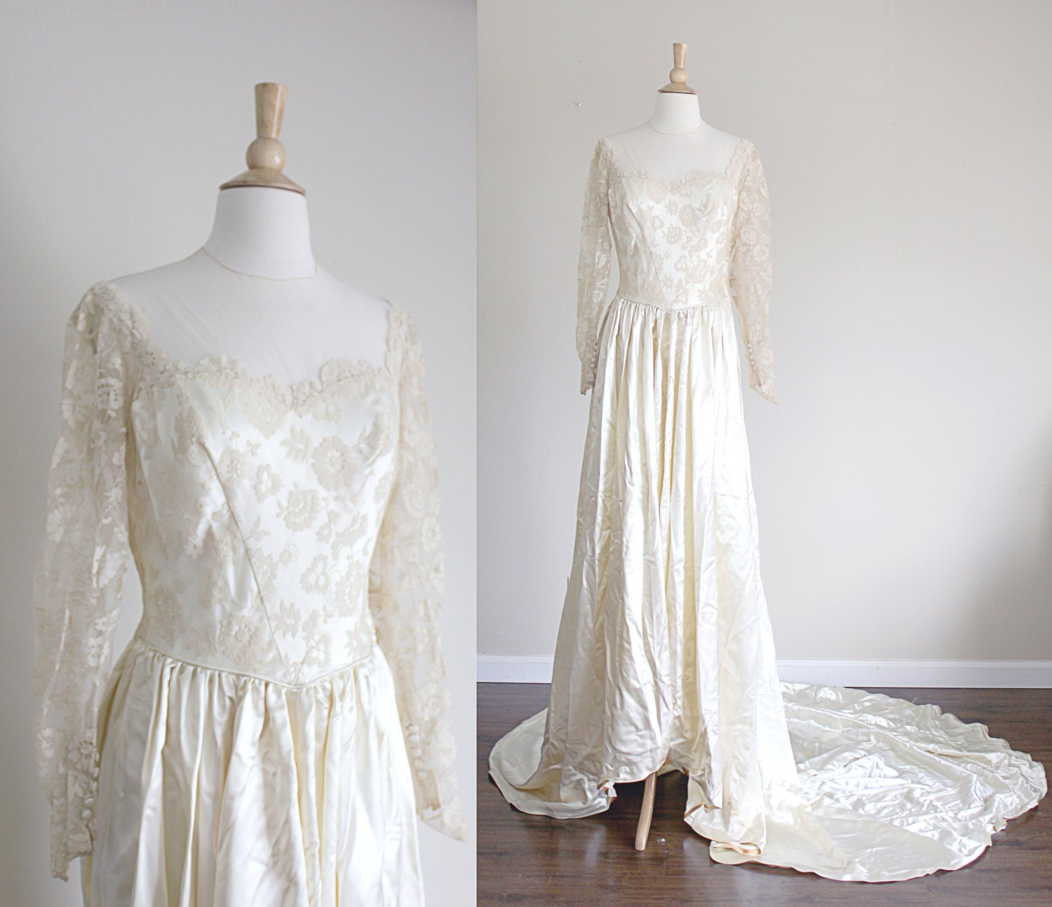 20s Lace Wedding Dress with Sleeves 20 Wedding Dresses ...