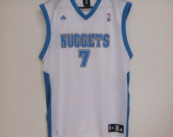 edc26bb4af4f3 Chauncey Billups  7 Jersey Adidas NBA Tank Top Denver Nuggets Extra Large