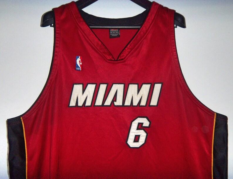 116cc6da1d5 Sewn NBA EDDIE JONES 6 Miami Heat Tank Top Nike Jersey