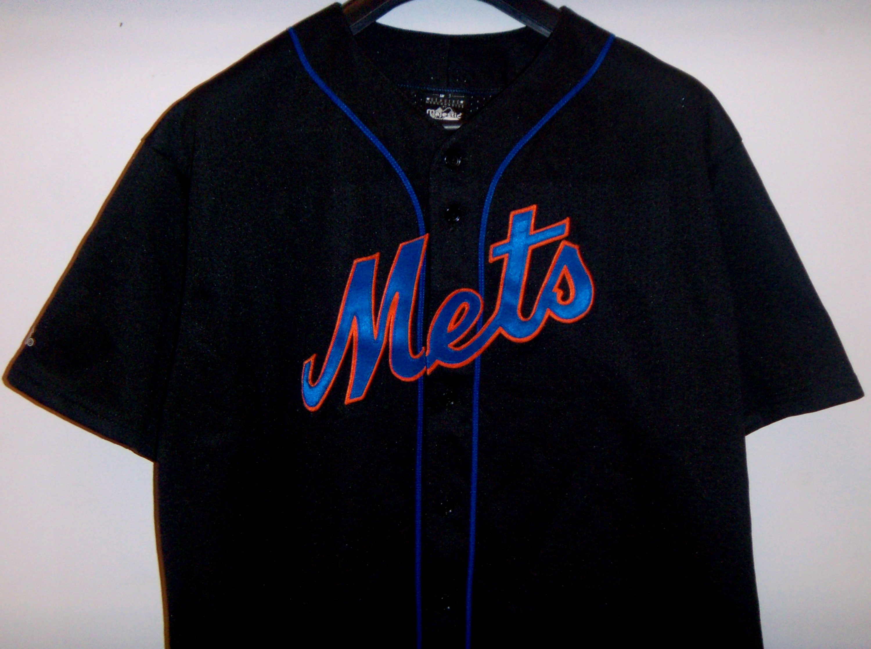 various colors f72c3 2df6e Mike Piazza Jersey New York Mets MLB Majestic Shirts&Top Tees 2XL Made in  USA