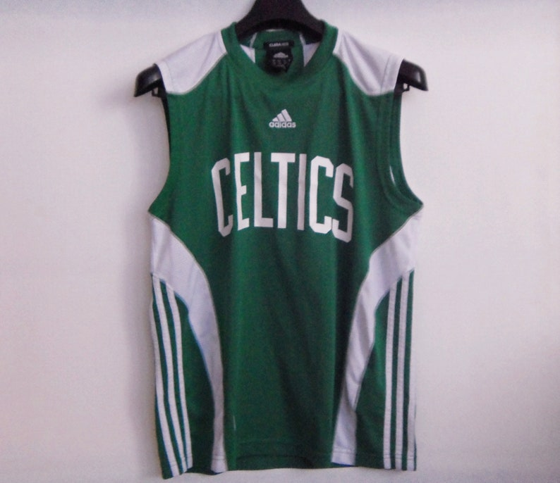 912e087f411d NBA BOSTON CELTICS Tank Top Adidas Customer Training Fit Small
