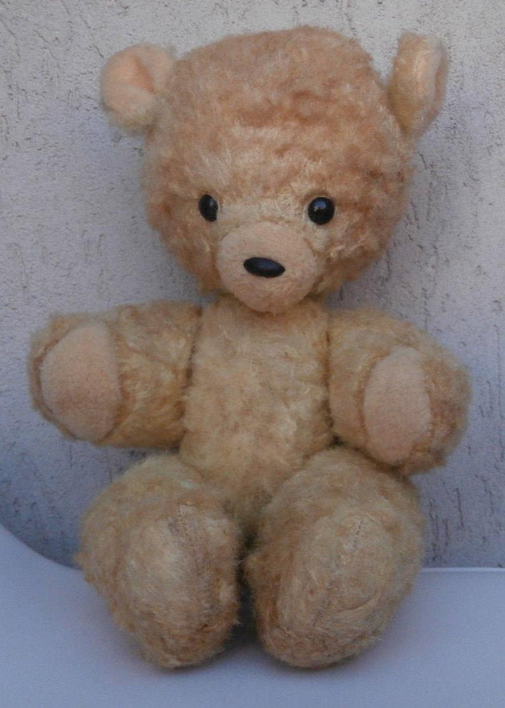ha L'orsacchiotto dell'orso antico Teddy Mohair descritto del d'antiquariato Bear ShabbyEtsy dell'oggetto DH9EIYeW2