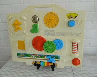 Disney Child Guidance Musical Busy Box By Gabriel Industries 1977