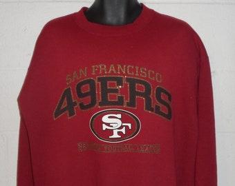 Vintage 90s San Francisco 49ers Sweatshirt Large a90eaea2c