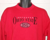 9c8477a798086 Items similar to Vintage Gray Nike Ohio State Buckeyes Football ...