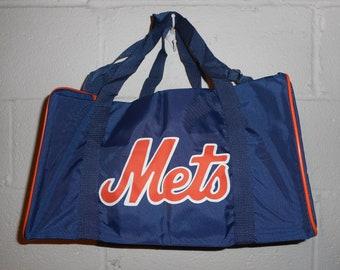 419cb0d0ff5d Vintage 80s 90s New York Mets Duffle Bag Gym Bag 16