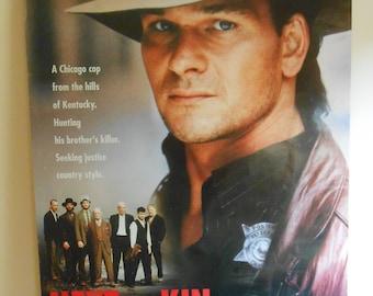 Next Of Kin (1989) Original Movie Poster Patrick Swayze Liam Neeson 27x40