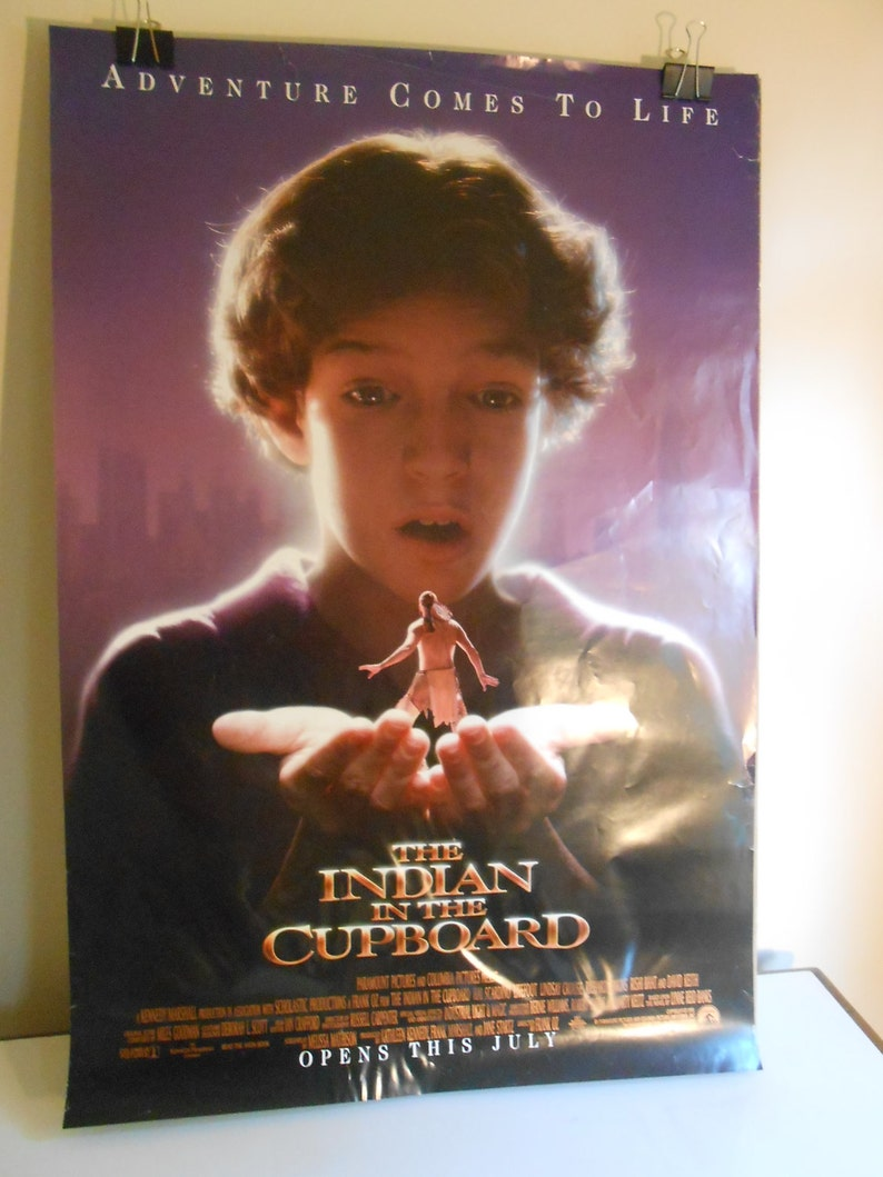 The Indian In The Cupboard 1995 Original 2 Sided Movie Etsy