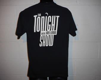 Vintage Tonight Show Jay Leno 1992 Tshirt cvgupOpoqq