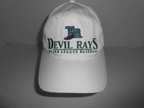 b37a2601526 Vintage 90s Drew Pearson Tampa Bay Devil Rays Snapback Cap