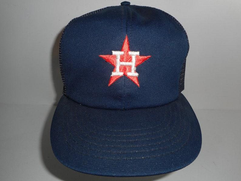 47168545 Vintage 80s Annco Houston Astros Trucker Snapback Cap Hat | Etsy