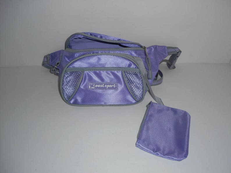 e16f96cb579 Vintage Purple Eastport Fanny Pack Messenger Bag Waistpack Bum