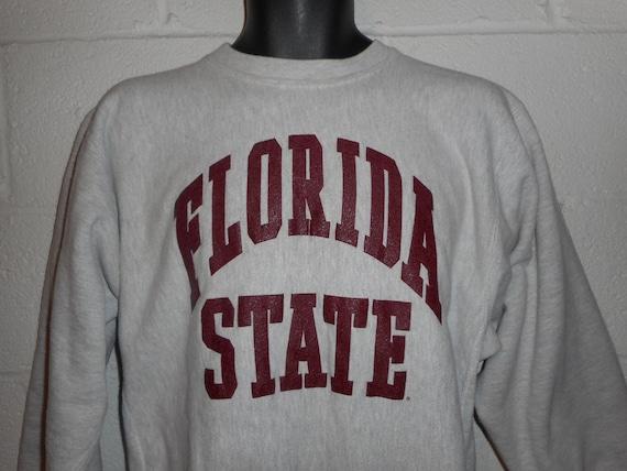 Vintage 80s 90s Champion Reverse Weave Florida Sta