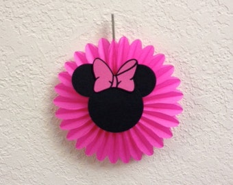 Minnie Mouse Birthday Hanging Fans