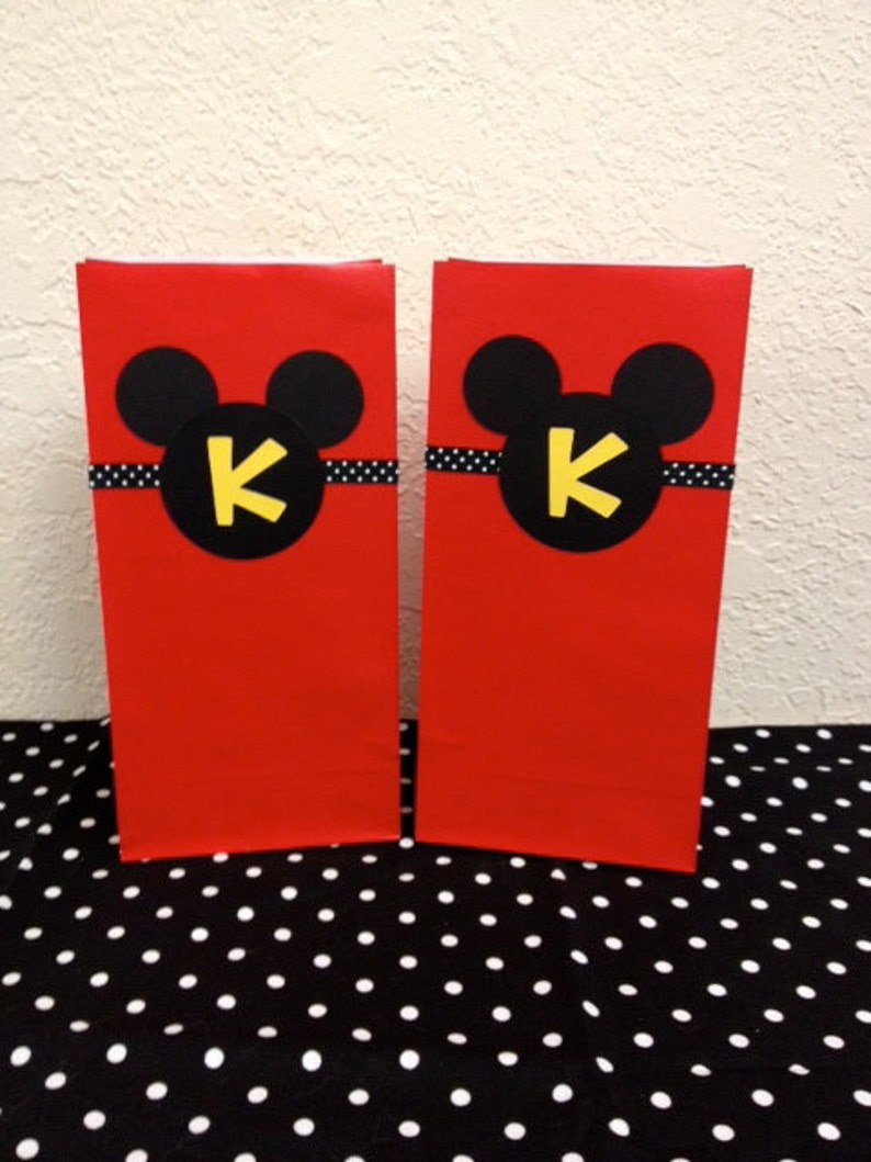 Mickey Mouse Birthday Goodie Bags Treat Gift 10