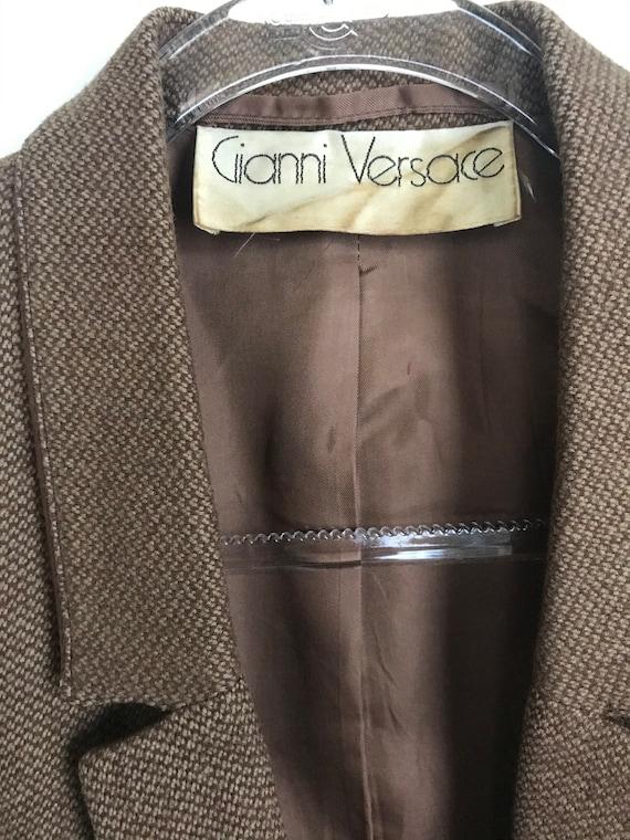 Vintage Gianni Versace wool blazer - image 5