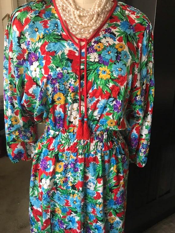 Diane Freis boho style dress