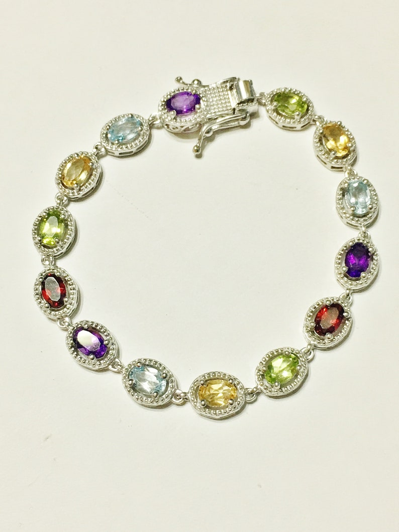 Purple Amethyst Quartz Sterling Silver Overlay 10 Grams Bangle//Bracelet Free Size Handmade Jewelry Pretty
