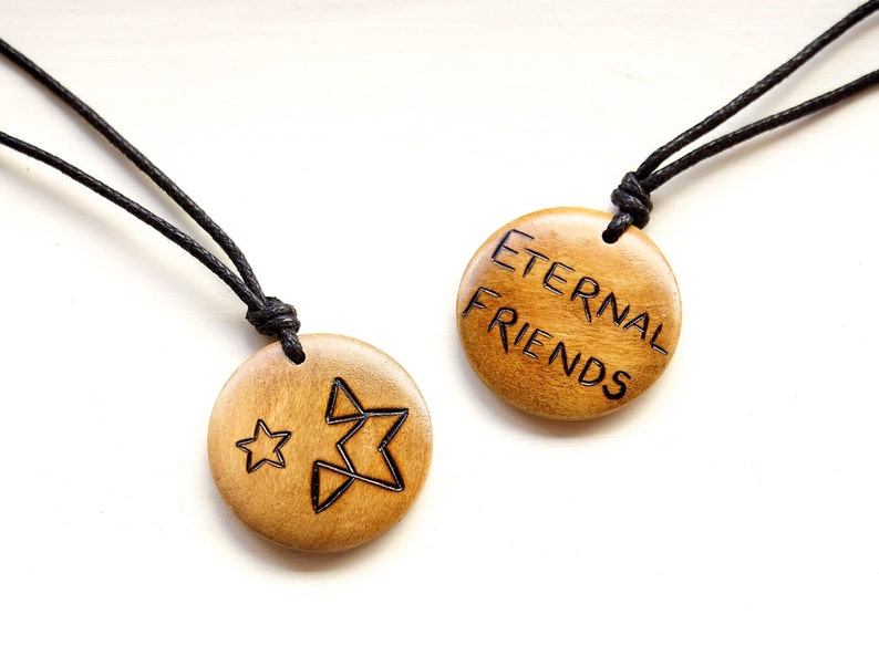 Personalised Gift Custom Necklace Custom Design Pendant Customised Jewellery Pyrography Wooden Pendants Mens Necklace Ladies Unique Gift