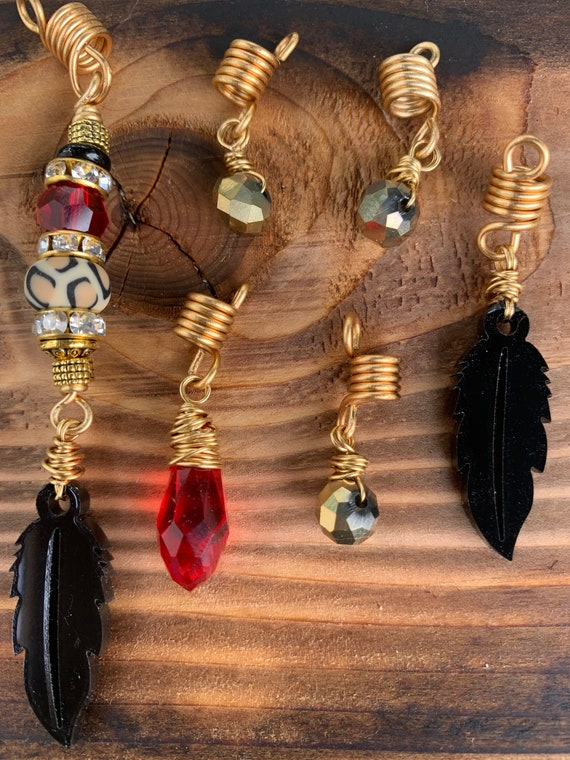 Design/'S By Cyere Tribal Music  Loc and Braid Jewelry Accent Piece