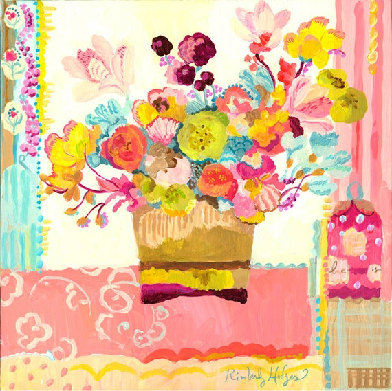 Love Is giclee print by Kimberly Hodges, 12 x 12, 14 x 14, 20 x 20