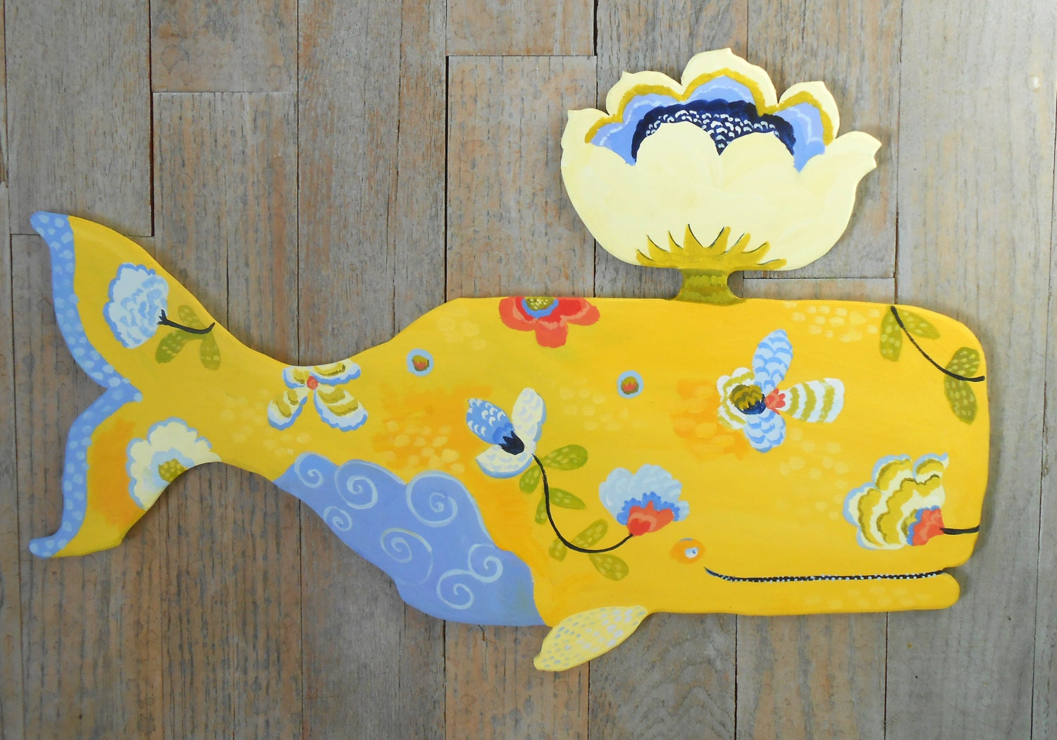 Provence whales wood wall sculptures by Kimberly Hodges, multiple ...