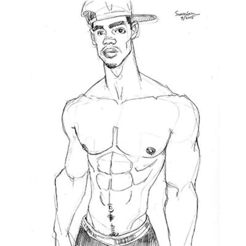 становится колени рисунки мускулистых парней по-прежнему тебя