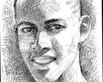 Portrait Study of Manuel