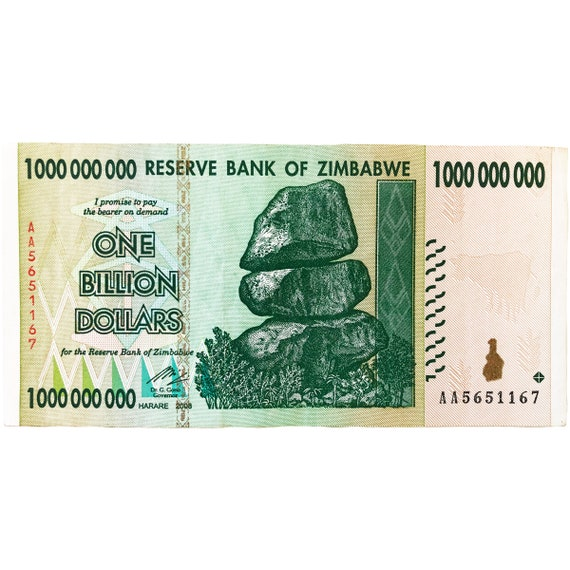ZIM 100 TRILLION DOLLAR BANKNOTE 2008 AA SERIES CURRENCY USA SELLER FAST SHIPPER