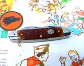 1962-1979 Schrade Ulster Boy Scout Pocket Knife Multi Tool Bottle Opener Key Fob Camp Knife Official Boy Scouts Of America