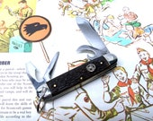 Vintage 1962-1979 Ulster USA Boy Scouts of America Official Pocket Knife Multi Tool Be Prepared
