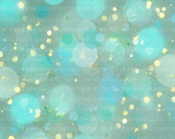 Balloons and Bokeh Photography Backdrop, Twinkle, Lights, Glitter, Sparkle, Sparkly, Jewels, Party, Birthday, Event Vinyl, Fleece
