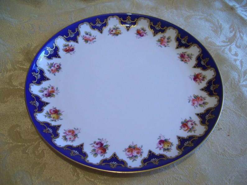 Royal Worcester Cabinet Plate C1903