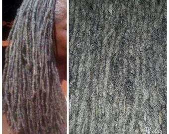 Human Hair Dreadlock Extensions Etsy