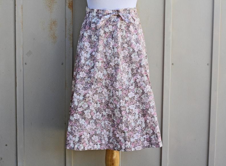 3935b171dc Pink Drawstring Waist Skirt Pastel Goth Skirt 80s Skirt | Etsy